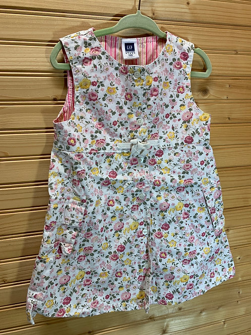 Size 2T BABY GAP Floral Dress and Bloomers, Used