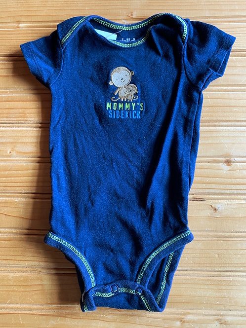 Size 0-3m Mommy's Monkey Onesie