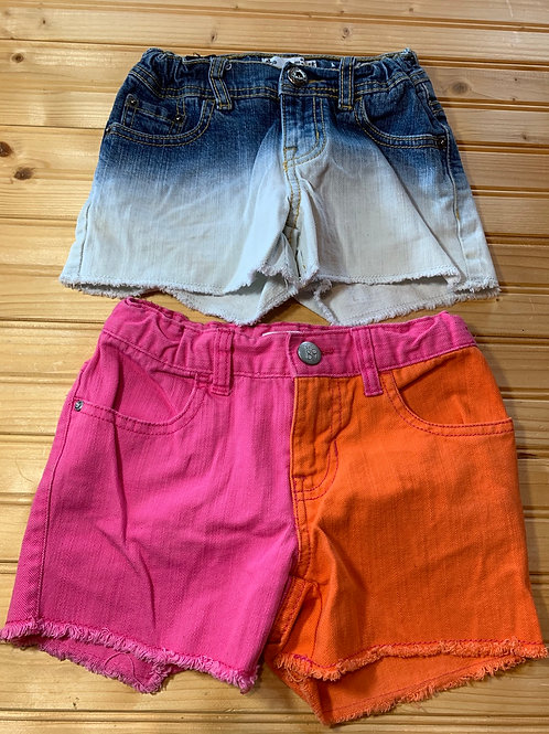 Size 6/6x CHILDREN'S PLACE 2 Cut off Shorts, Used