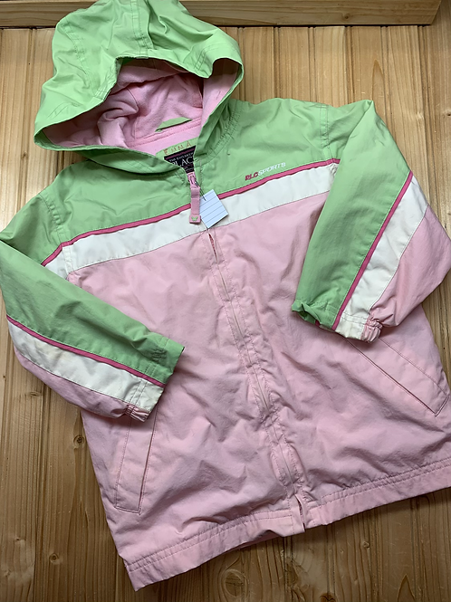Size 4T CHILDREN'S PLACE Pink and Green Windbreaker