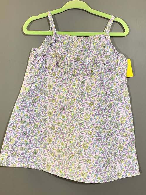 Size 12/18m OLD NAVY Lavender Floral Summer Dress, Used