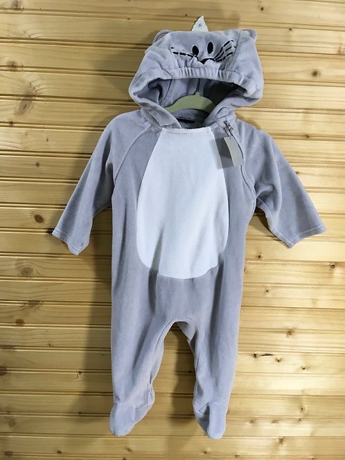 Size 3-6m approximately Grey Mouse Costume