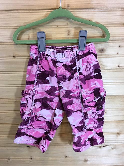 Size 6-9m CHILDREN'S PLACE Pink Camo Corduroy Pants