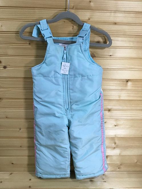 Size 12m OSHKOSH Baby Blue Bib Snowpants