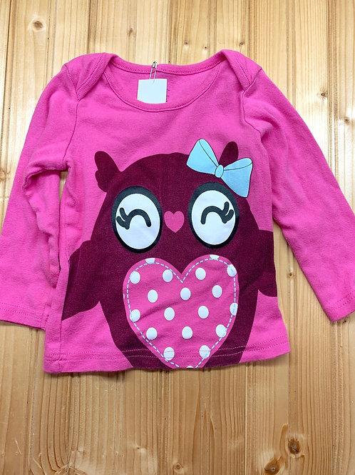 Size 18m Owl Shirt