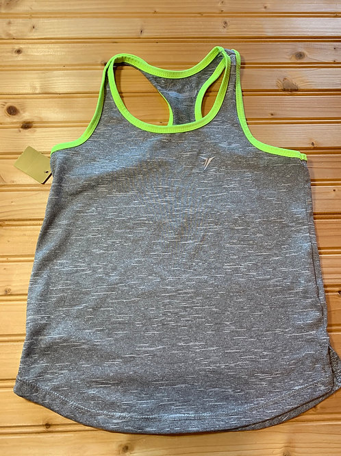 Size 6/7 OLD NAVY Grey Sport Tank Top, Used