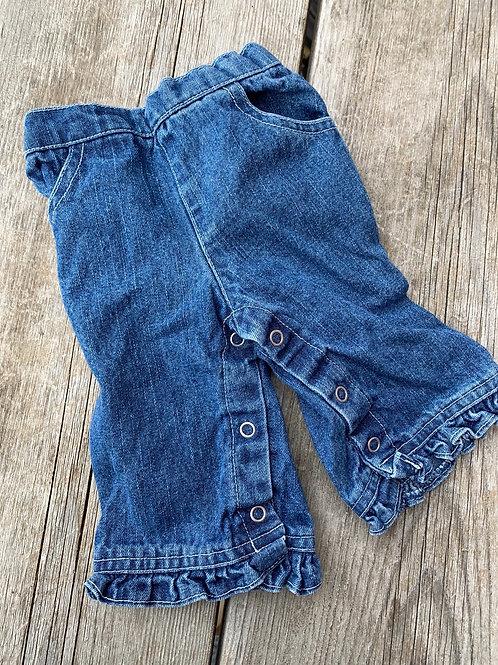 Size 0-3m KIDS PLAY Ruffle Jeans