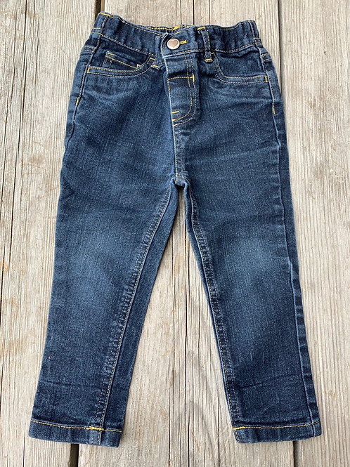 Size 2T WONDER NATION Skinny Jeans, Used