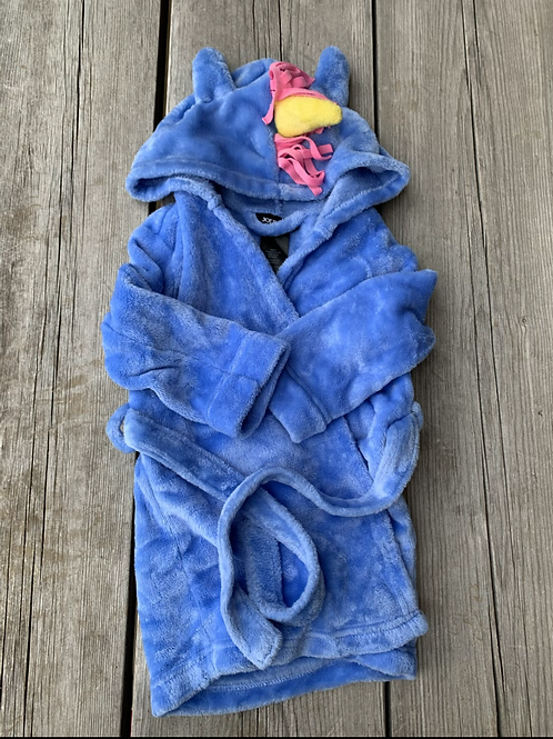 Size 2T JOE BOXER Blue Unicorn Bathrobe