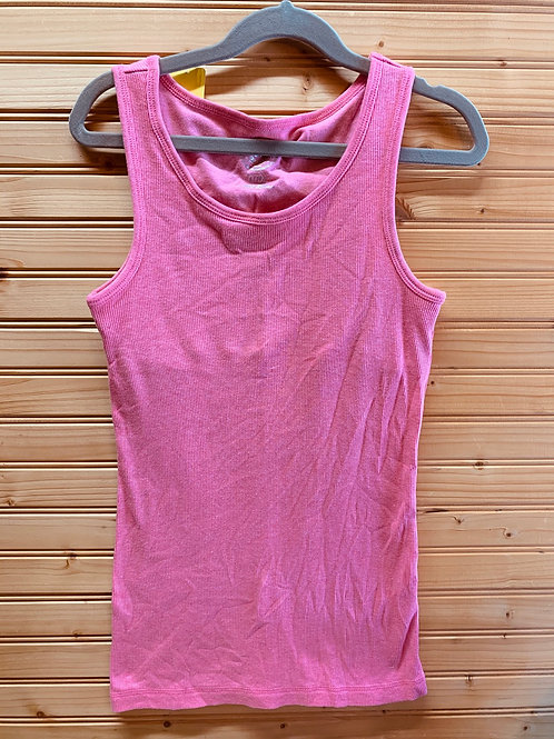 Size 14 Kids SO Pink Stretch Tank, Used