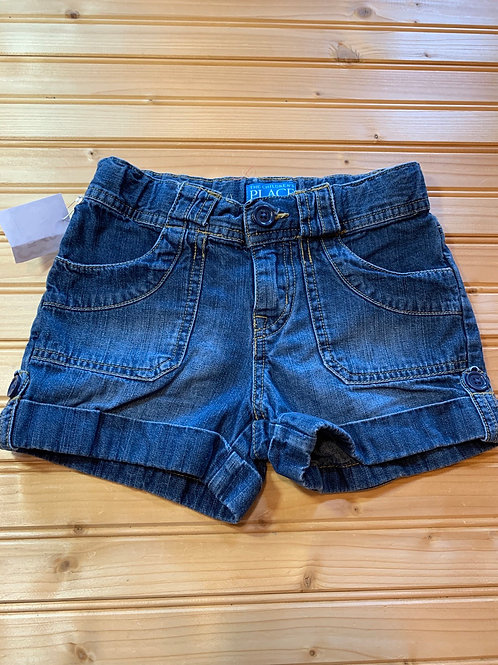 Size 6 CHILDREN'S PLACE Jean Shorts, Used