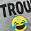 Size 10/12 TWIRL Trouble Maker Emoji Shirt