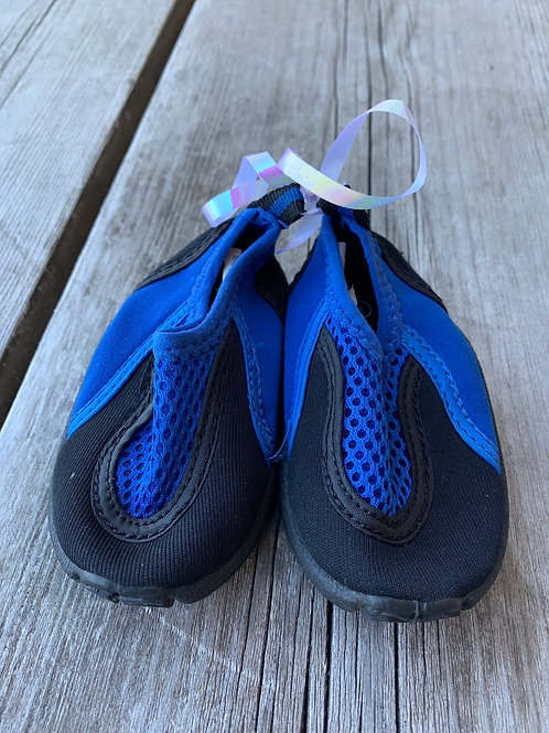 Size 3 Baby Blue Water Shoes