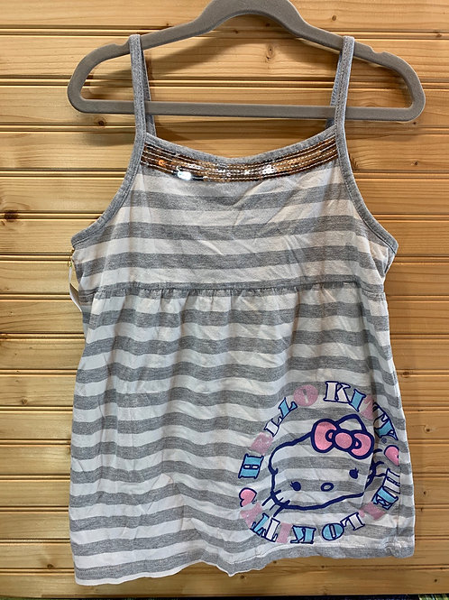 Size 14/16 Kids Hello Kitty Top, Used