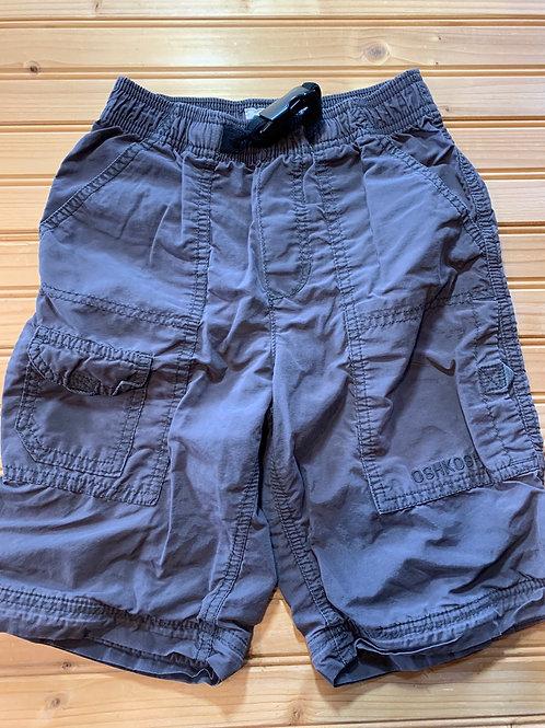 Size 6 OSHKOSH Grey Cargo Shorts, Used