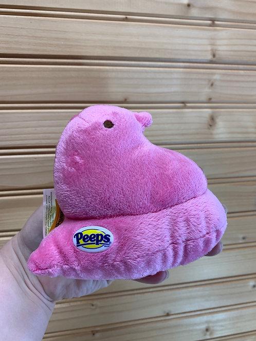 PEEPS Pink Duck Stuffed Animal, Used