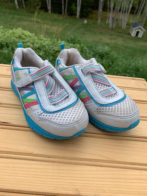 Size 10 kids Shiny Sneakers