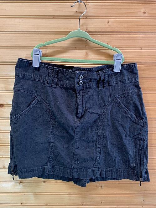 Size 2 COLUMBIA Dark Grey Skirt, Used
