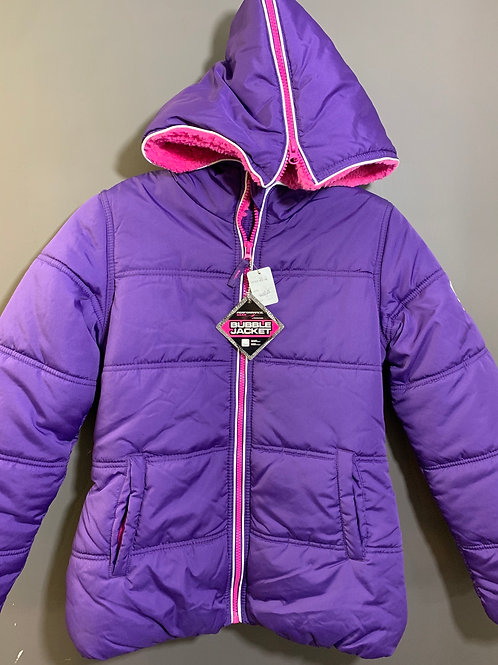 Size 16 youth PERFORMANCE GEAR New Purple Bubble Jacket