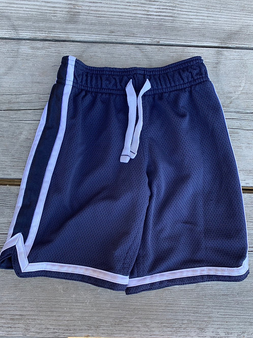 Size 4 CARTER'S Navy Sport Shorts, Used