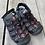 Size 1Y KHOMBU Black Trekking Sandals