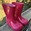 Size 5/6 Toddler Pink Mud Boots
