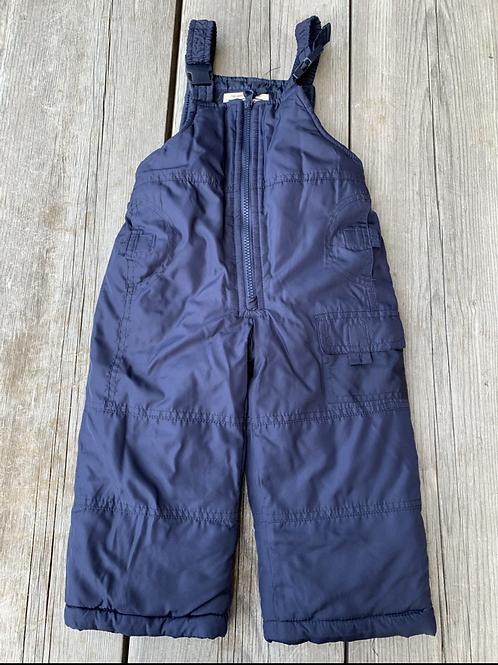 Size 2T OSHKOSH Navy Bib Snow Pants