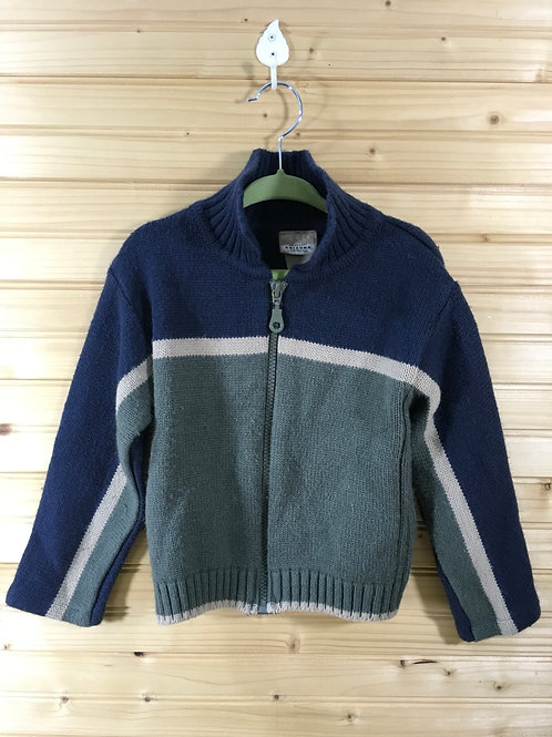 Size 3T ARIZONA Knit Zip Up Sweater