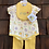 Size 3-6m Yellow Spring 3pc Outfit