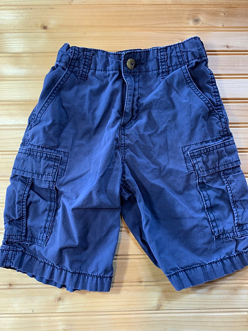 Size 7 Kids OSHKOSH Navy Shorts, Used