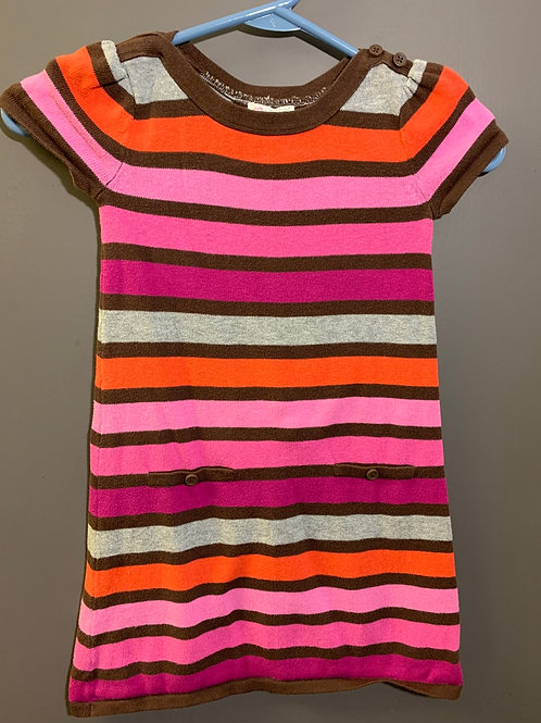 Size 5(?) Girls CHILDREN'S PLACE Striped Knit Dress