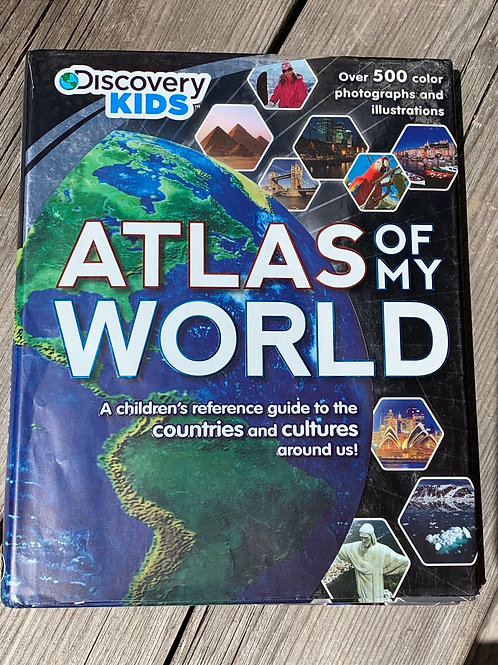 ATLAS OF MY WORLD book front