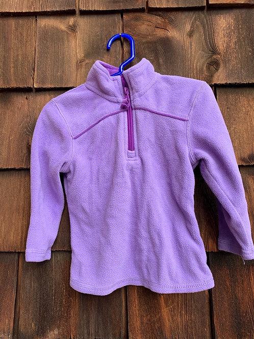 Size 2T LAYER8 Lavender Fleece