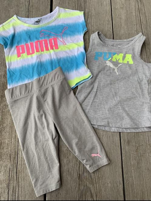 Size 24m PUMA Grey 3pc Set
