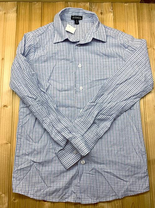 Size 12 Lavender Plaid Shirt