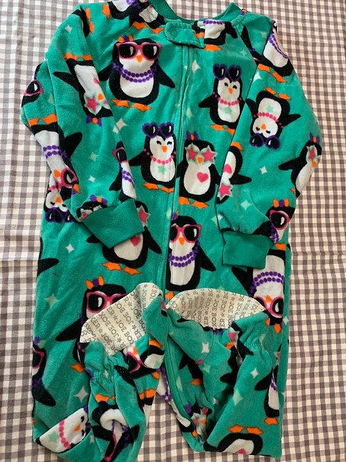 Size 2T Penguin Fleece PJ