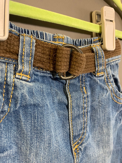 Size 3-6m OLD NAVY Jeans with Belt