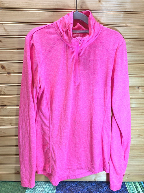 Size 0-2 Women Hot Pink Pullover