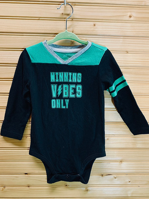 Size 18m Winning Vibes Only Onesie, Used