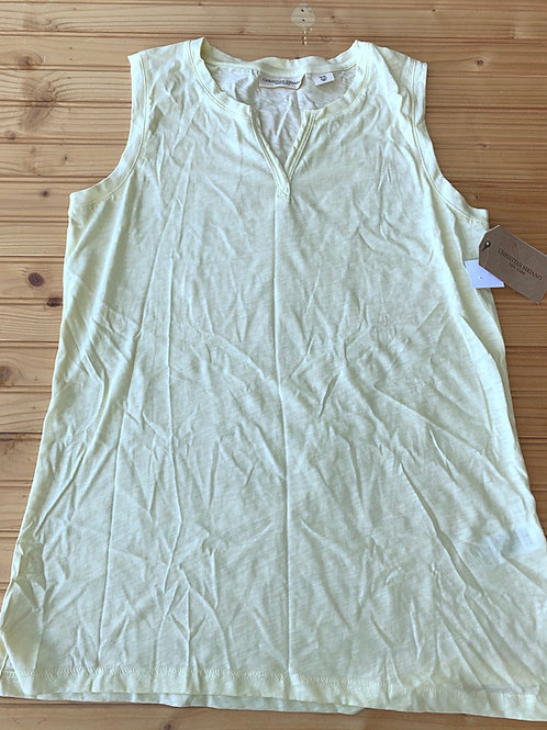 Size XS Pale Yellow Sleeveless Top