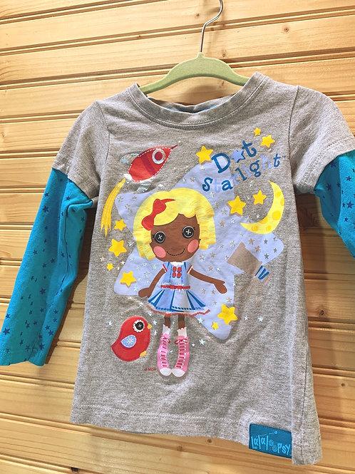 Size 2T Lalaloopsy Dot Starlight Shirt