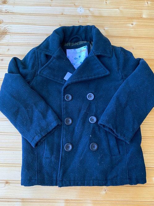 Size 4T WONDER KIDS Fleece Peacoat