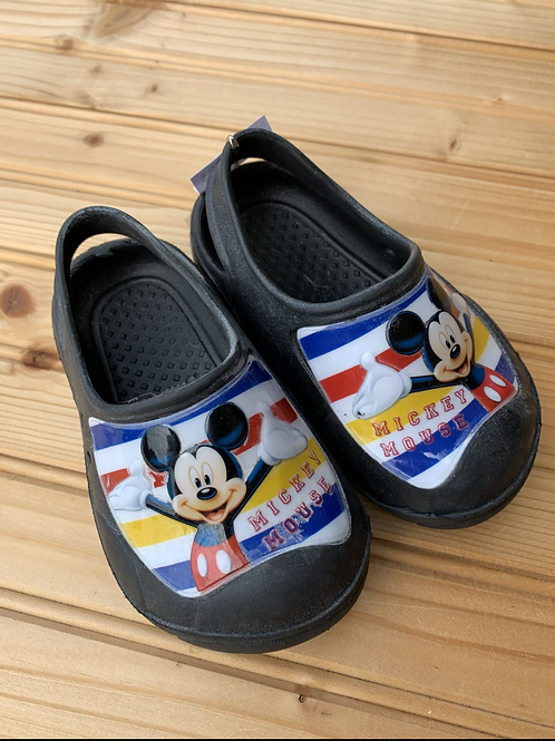 Size 5/6 Little Kids DISNEY Mickey Mouse Molded Sandals