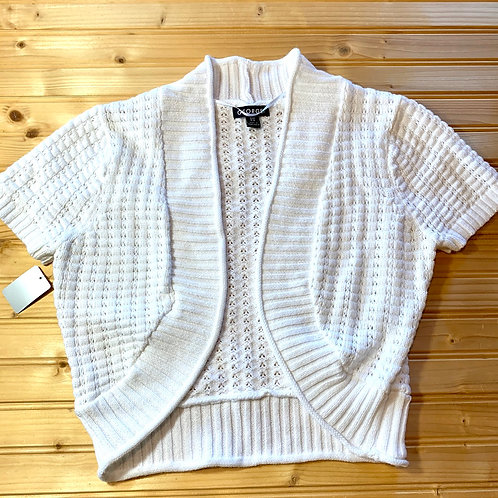 Size 4-6 Youth GEORGE White Knit Sweater, Used