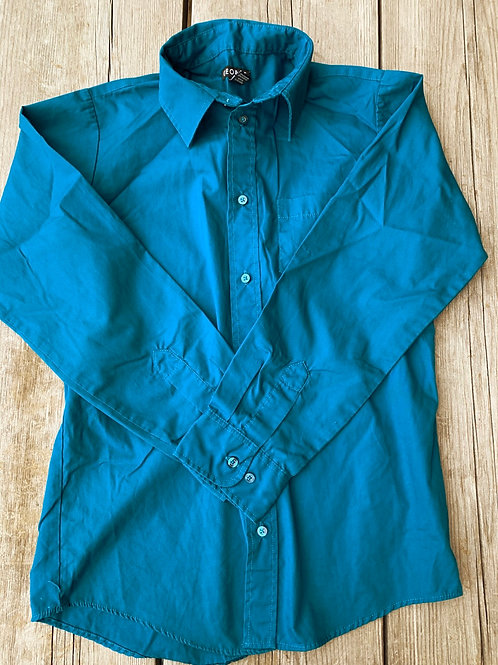 Size 14/16 GEORGE Teal Blue Shirt