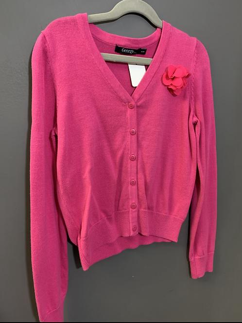 Size M 8 GEORGE Pink Cardigan