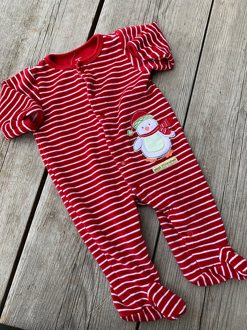 Size 6m CARTER'S Baby's First Christmas PJ