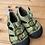 Size 6 Little Kids KEEN Green Sandals