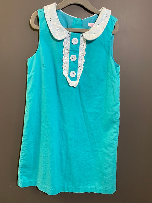 Size 8 Youth LILLY WICKET Blue Dress