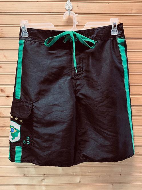 Size 32 Brazil Swim Trunks, Used